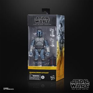 Hasbro Star Wars The Black Series Mandalorian Loyalist Action Figure