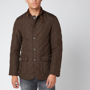 Barbour Men's Lutz Quilted Jacket - Olive