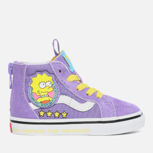 Vans X The Simpsons Toddlers' Sk8 Hi-Top Trainers - Lisa 4 Prez