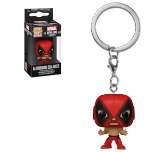 Marvel Luchadores Deadpool Pop! Keychain