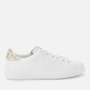 Victoria Women's Sustainable Leather Cupsole Trainers - Cava
