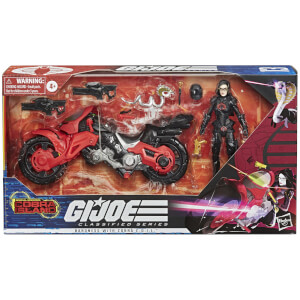 Hasbro G.I. Joe Classified Series Baroness with C.O.I.L. Figure and Vehicle