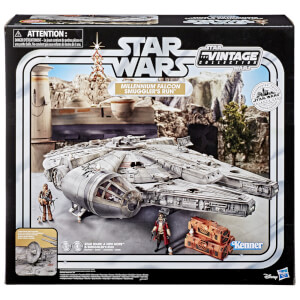 Hasbro Star Wars The Vintage Collection Galaxy's Edge Millennium Falcon Smuggler's Run