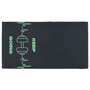 Keep Going With Your Weights Fitness Towel