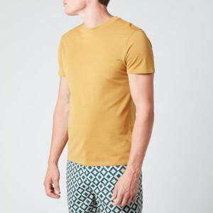 Frescobol Carioca Men's Pique Crewneck T-Shirt - Twine