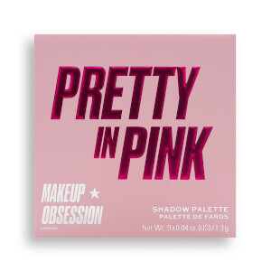 Makeup Obsession Eye Shadow Palette - Pretty in Pink