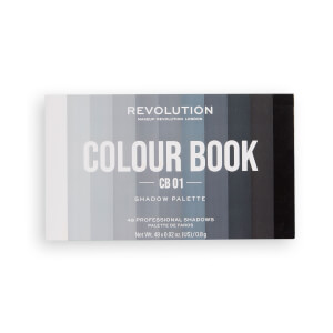 Makeup Revolution Colour Book Eyeshadow Palette CB01