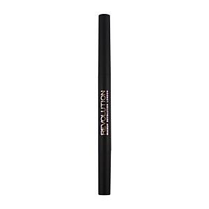 Makeup Revolution Duo Brow Pencil - Medium Brown