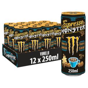 Espresso Monster Vanilla Espresso 12 x 250ml