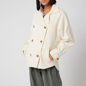 Free People Women's Remi Shirt Jacket - Ecru