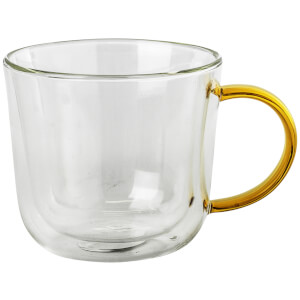 Broste Copenhagen Thermo Mug - Set of 4 - Amber