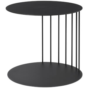 Broste Copenhagen Pouf Steel Table - Black