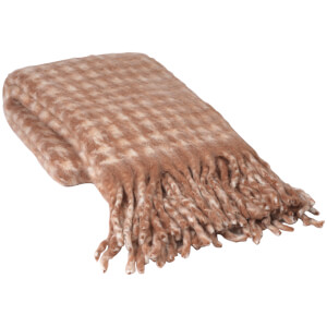 Broste Copenhagen Ida Throw - Blush