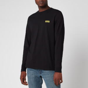 Barbour International Men's Long Sleeve Logo T-Shirt - Black