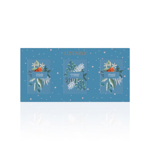 Liz Earle Winter Garden Botanical Cleansing Bar Trio