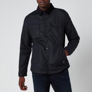 Barbour Beacon Men's Akenside Wax Jacket - Navy