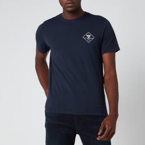 Barbour Beacon Men's Box Logo T-Shirt - Navy