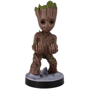Soporte Mando o Móvil Guardianes de la Galaxia Groot (23 cm) - Cable Guy