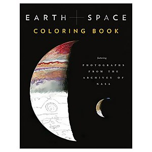 Earth and Space Colouring Book