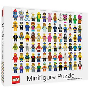 LEGO Minifigure Jigsaw Puzzle