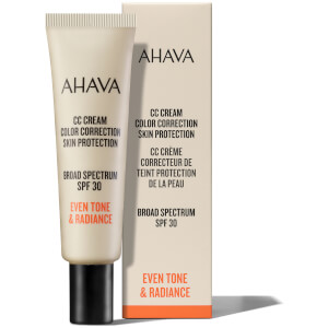AHAVA CC Cream SPF30 Colour Correction 30ml