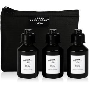 Urban Apothecary Velvet Peony Luxury Bath and Body Gift Set (3 Pieces)