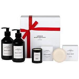Urban Apothecary Velvet Peony Luxury Bath and Body Gift Set (4 Pieces)