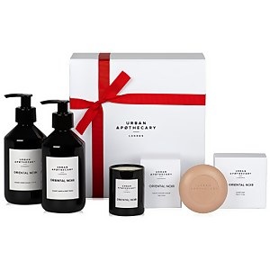 Urban Apothecary Oriental Noir Luxury Bath and Body Gift Set (4 Pieces)
