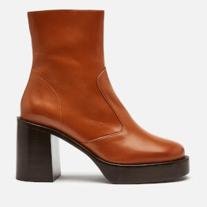 Simon Miller Women's Low Raid Heeled Boots - Toffee