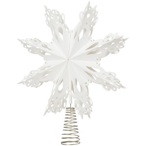 Broste Copenhagen Star Tree Topper - White