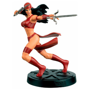 Eaglemoss Marvel Elektra Figure