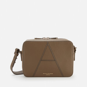 Aspinal of London Women's Camera Bag - Warm Grey