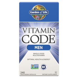 Garden of Life Vitamin Code Men - 240 Capsules