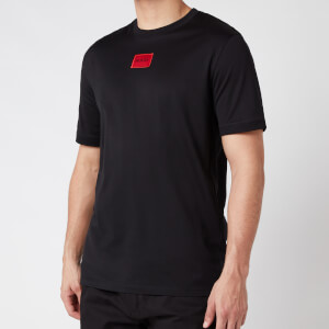 HUGO Men's Diragolino Box Logo T-Shirt - Black