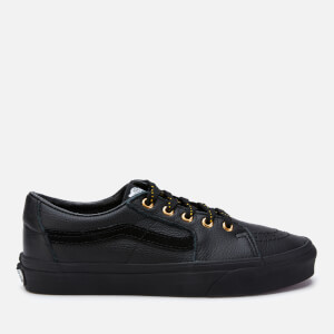 Vans Women's Leather Sk8-Low Trainers - Black