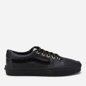 Vans Women's Leather Sk8-Low Trainers - Black