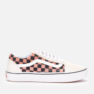 Vans Women's Comfycush Mixed Media Old Skool Trainers - White/Multi