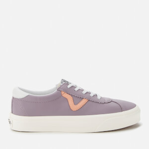 Vans Women's Sport Leather Trainers - Nirvana/Snow White