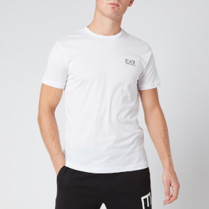 Emporio Armani EA7 Men's Small Logo T-Shirt - White