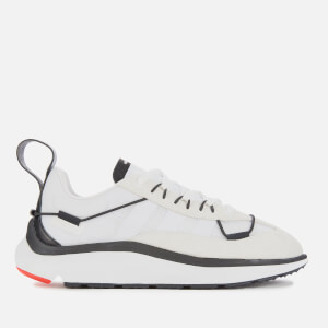 Y-3 Men's Shiku Run Trainers - White/Black/Red