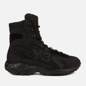 Y-3 Men's Notoma Boots - Black/Grey
