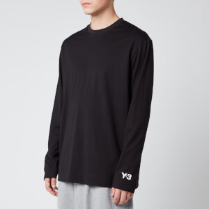 Y-3 Men's Ch2 GFX Long Sleeve T-Shirt - Black