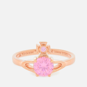 Vivienne Westwood Women's Reina Petite Ring - Pink Gold Pink