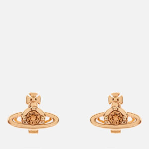 Vivienne Westwood Women's Nano Solitaire Earrings - Gold Light Colorado Topaz