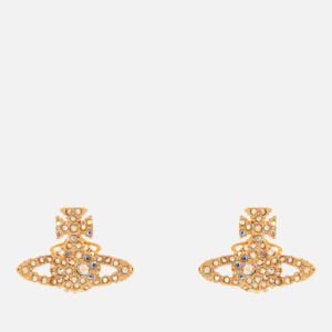 Vivienne Westwood Women's Grace Bas Relief Stud Earrings - Gold Aurore Boreale