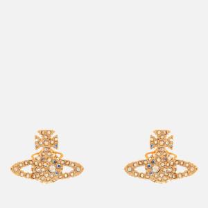 Vivienne Westwood Women's Grace Bas Relief Stud Earrings - Gold Aurore Boreale