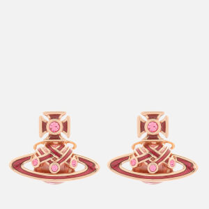 Vivienne Westwood Women's Rodica Bas Relief Earrings - Pink Gold Light Rose Pink Rose