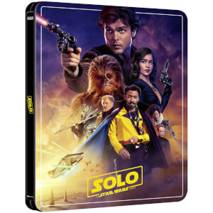 Solo: A Star Wars Story – Zavvi Exklusives 4K Ultra HD Steelbook (3 Disc Edition inkl. Blu-ray)