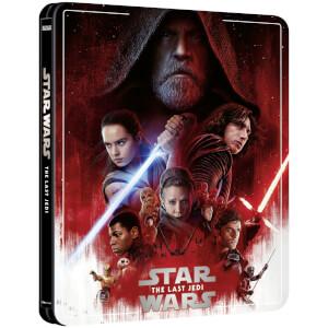 Exclusivité Zavvi : Steelbook Star Wars épisode VIII : Les Derniers Jedi – 4K Ultra HD (Édition 3 Disques Blu-ray inclus)