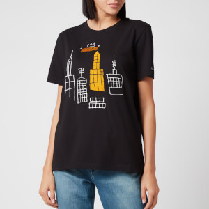 Coach X Jean Michel Basquiat Women's Mecca T-Shirt - Dark Shadow
